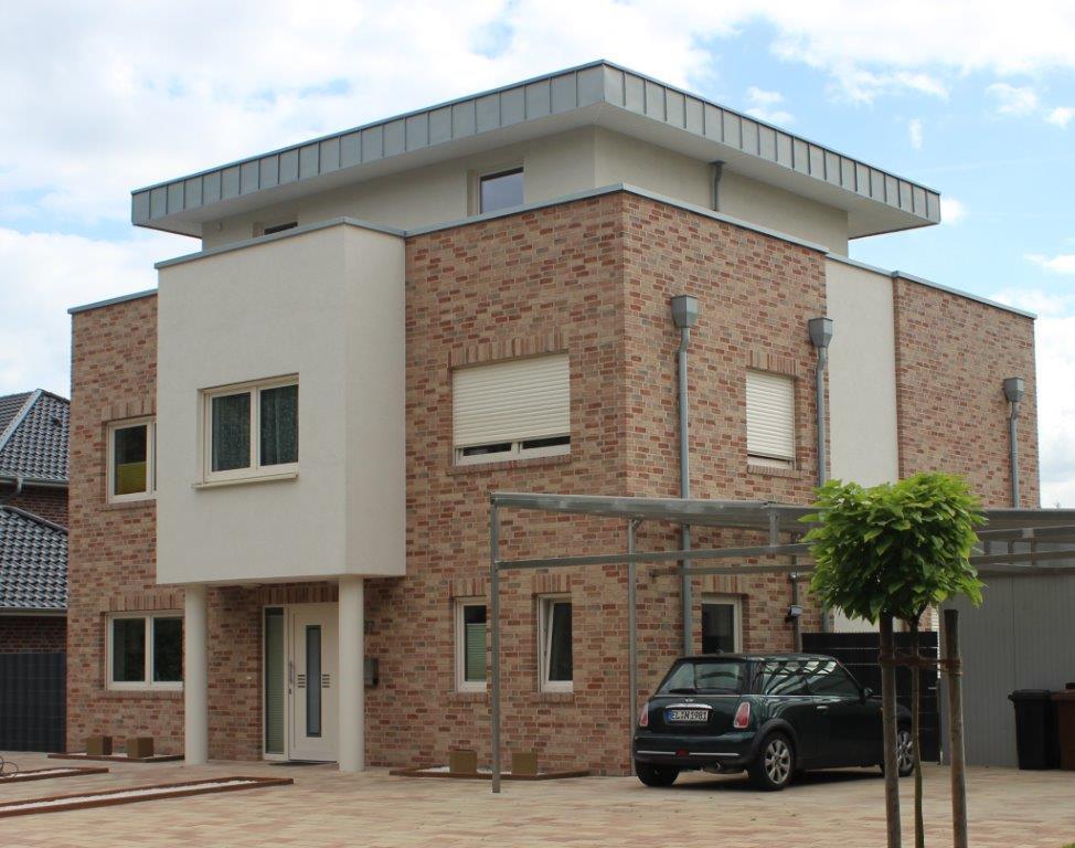 Architektenhaus bauhausstil flachdach im landkreis emsland for Architektenhaus flachdach