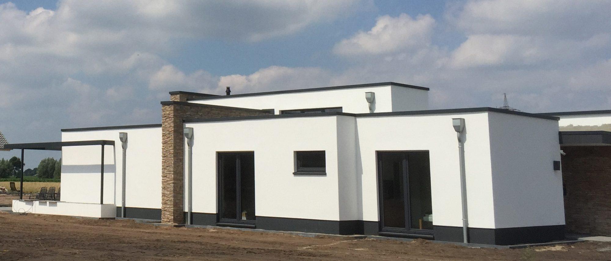 Architektenhaus bauen mit kalobau in osnabr ck oldenburg for Flachdachhaus modern