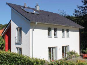 Das Pultdachhaus Ambiente unser Typ 17 mit knapp 150 m² Grundriss / Wohnfläche