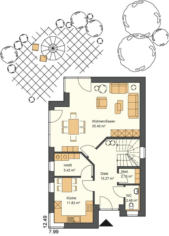 Wohnstil Pultdachhaus Mit 140 Qm Grundriss
