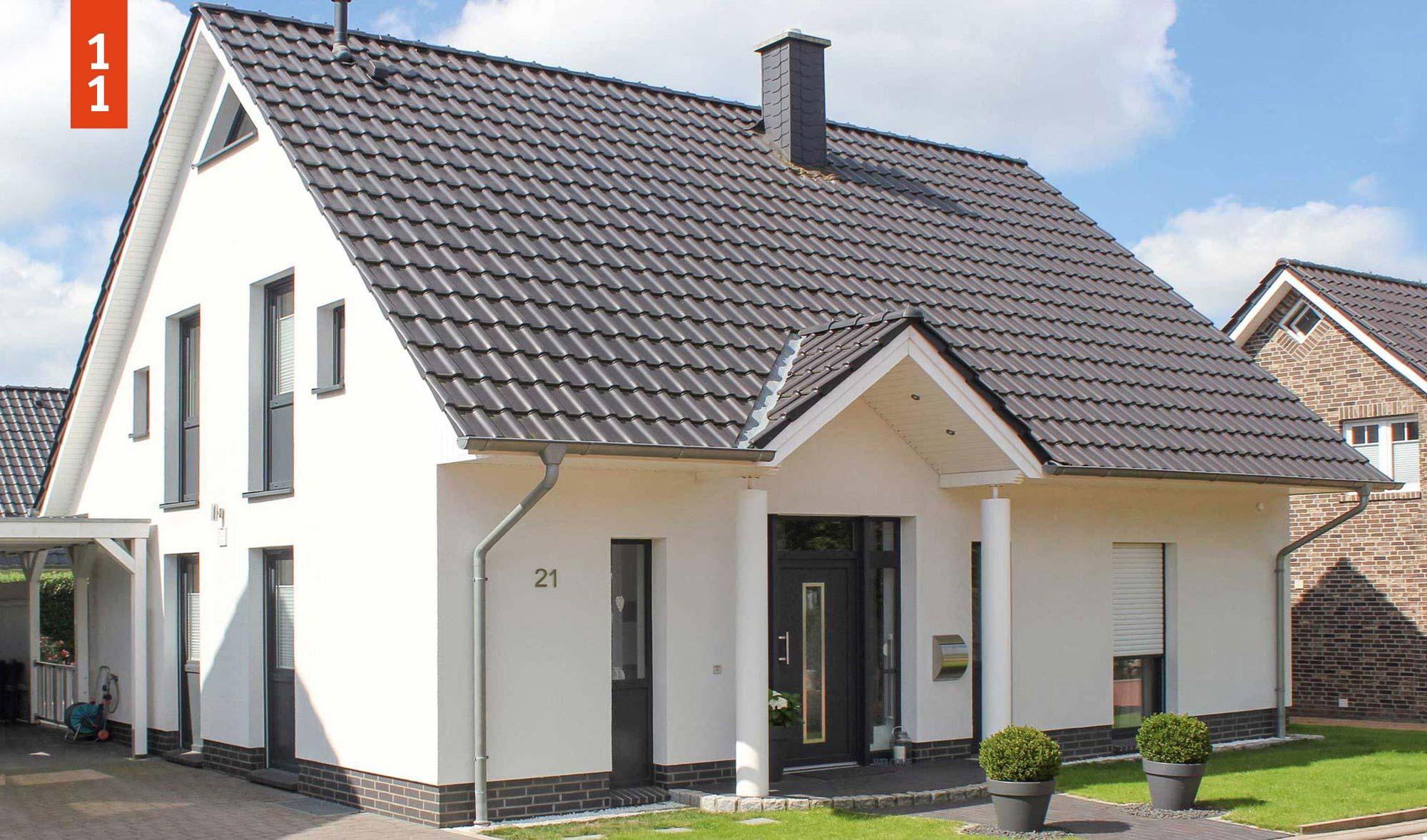 Wunsch T Raum Satteldachhaus 130 Qm