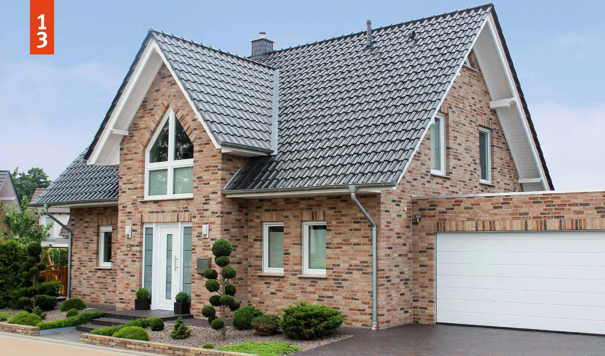 Unser Satteldachhaus mit Kapitänsgiebel ZEIT-RAUM - Wohnraum auf über 170 m² Grundriss