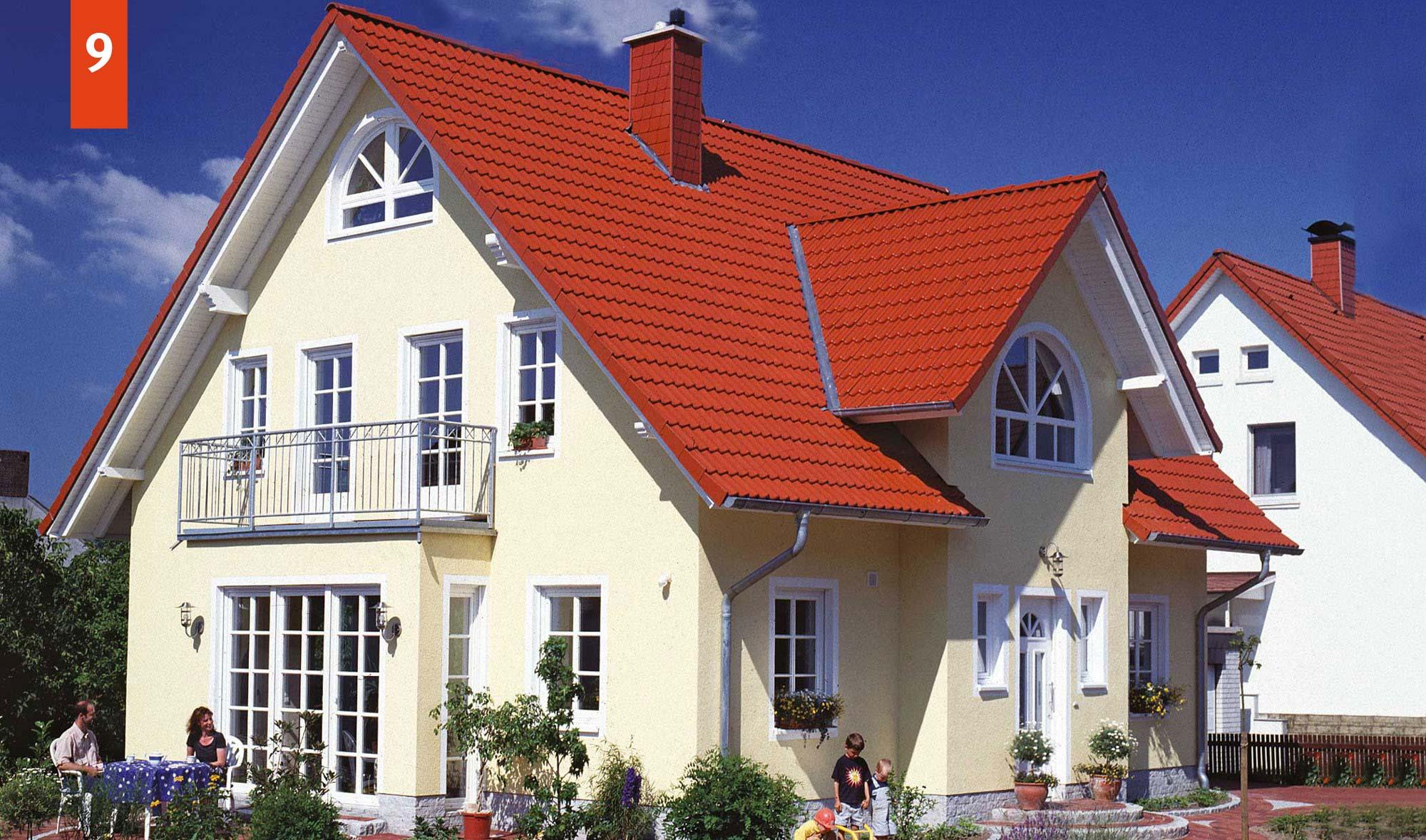 Landhaus mit Kapitänsgiebel und 165 m² Grundriss - Kapitänsgiebelhaus schlüsselfertig im Raum Osnabrück, Cloppenburg, Oldenburg