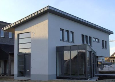 Architektenhaus mit Pultdach