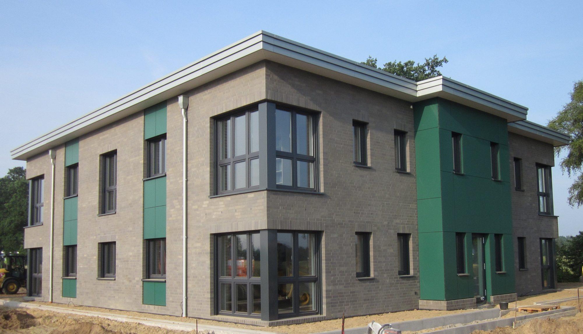 Ein Burogebaude Im Landkreis Cloppenburg Als Architektenhaus Kalobau