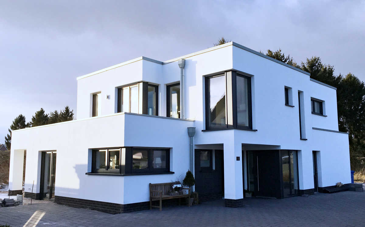 Architektenhaus Hausbau schlüsselfertig im Landkreis Cloppenburg