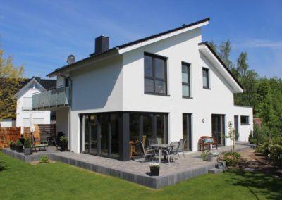 Pultdachhaus mit 180 qm als Architektenhaus