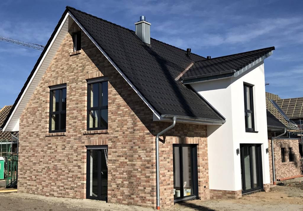Hausbesichtigung Musterhaus von Kalobau in Emsburen im Emsland am Sonntag den 18. November 2018