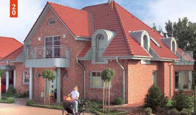 Walmdachhäuser