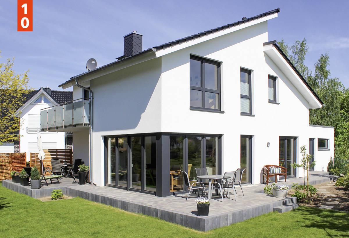 Pultdachhaus WOHNSTIL - unser Pultdachhaus mit knapp 140 m² Wohnfläche