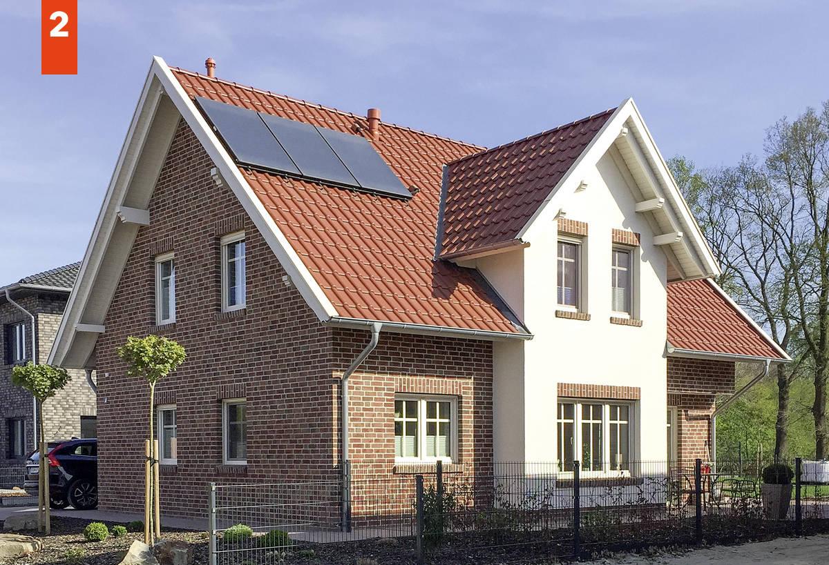 Einfamilienhaus als Friesenhaus mit über 180 m² Grundriss - Friesenhaus schlüsselfertig bauen in Osnabrück, Cloppenburg, Oldenburg, Vechta
