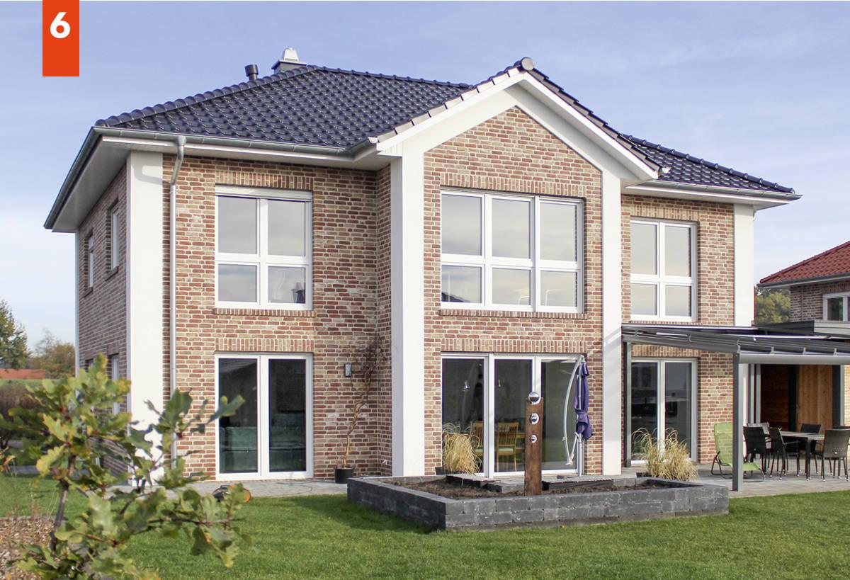 Stadtvilla bauen mit über 190 m² Grundriss