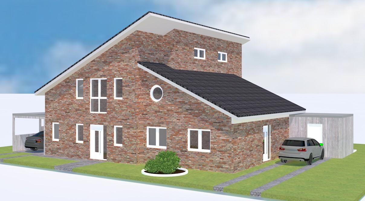 Pultdachhaus Hausbesichtigung in Ostercappeln