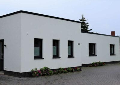 Flachdach im Bauhaus-Stil im Landkreis Cloppenburg